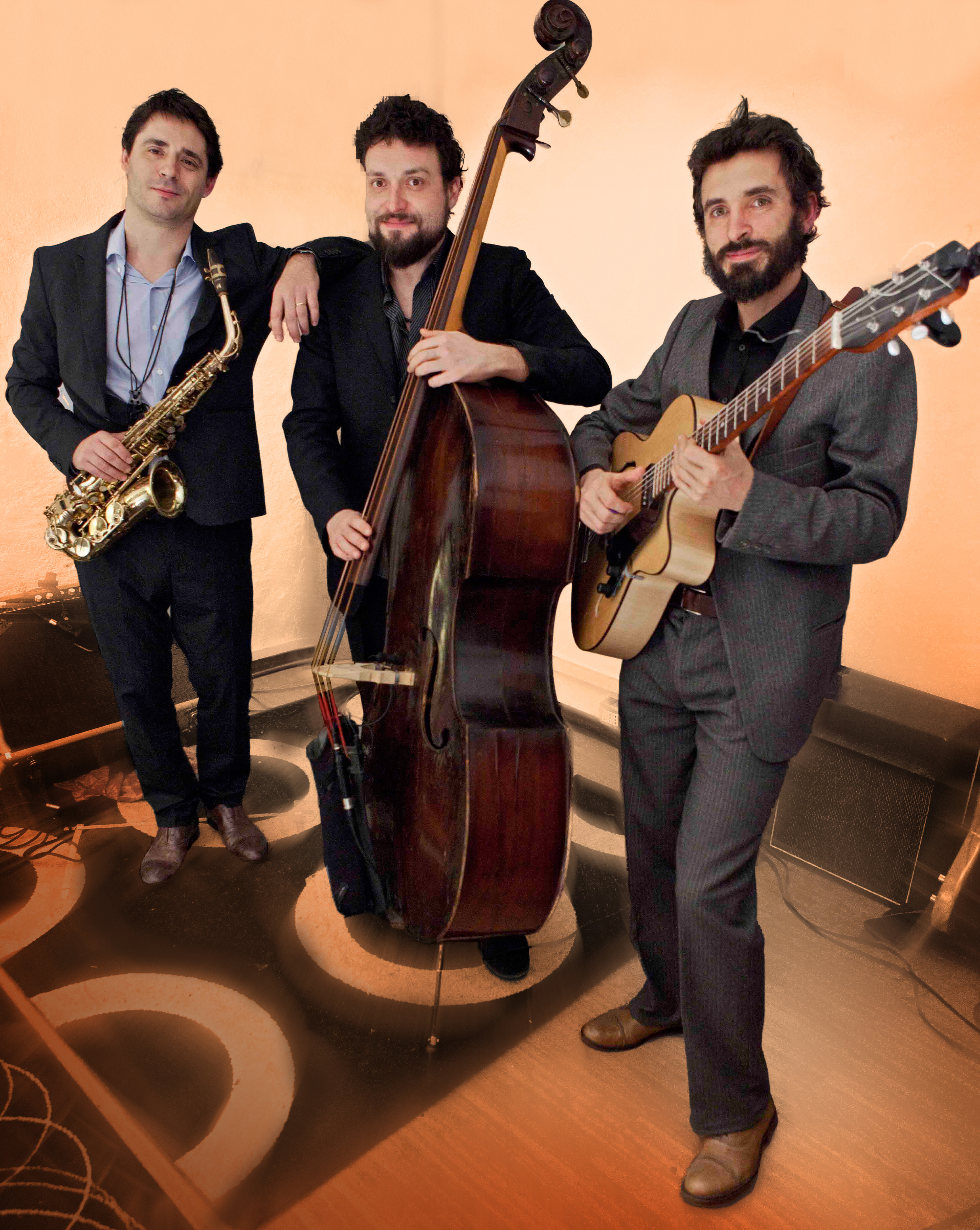 Trevor - Tolga - Zucconi Trio. photo: Valerie Granberg